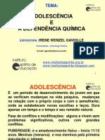 Adolescncia e Dependncia Qumica