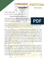 Modulo II Inglês - Fernanda