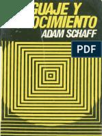 A. SCHAFF, Lenguaje y conocimiento.pdf