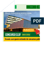 Edital Verticalizado CLDF Técnico Legislativo Fotógrafo