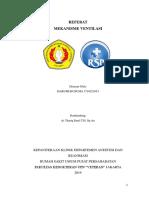 Referat ventilasi mekanik