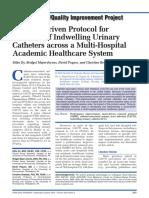 A Nurse-Driven Protocol For