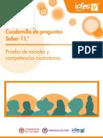 Cuadernillo de Preguntas Saber 11 Sociales y Ciudadanas