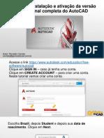Download e Instala o Do AutoCAD