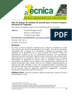 1Plan de manejo de residuos de pescado para el Puerto Pesquero Artesanal de Coquimbo