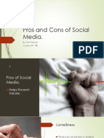 pros and cons of social media pdf