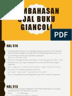 Pembahasn Soal Buku Giancoli