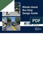 Rhode Island Bus Stop Design Guide