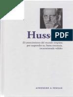 Aprender a pensar - 38 - Husserl.pdf