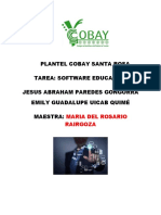 informatica 2° semestre software educaivo