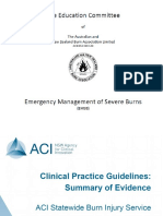 ANZ Burn Guidelines