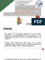 Uropatia Obstructiva y Nefrolitiasis