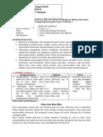 Real Analisis Muatan Bahaasa Indonesia Pada Tema 2 Subtema 1 Dan 2