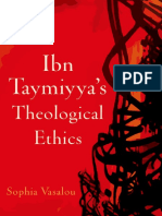 IbnTaymiyyah Theological Ethics