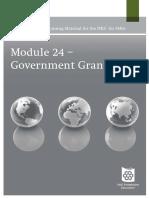 Module24_version20101_GovernmentGrants
