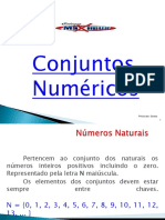 ( Aula 1 ) Conjuntos Numéricos 6 Ano Serie 1 Bm