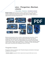 Belajar Arduino