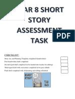 short story writing assessment 2018