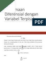 Soal Dan Pembahasan Persamaan Diferensia