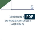 encefalopatia epatica 2018