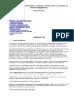 NE 031 - 04 NORMATIV Pentru Hidroizolarea Tunelurilor Pentru Căi de Comunicaţie Cu Folii Din Mase Plastice