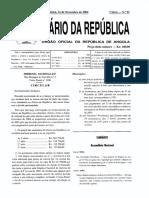 Lei 10-2004 - Actividades Petroliferas