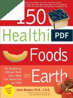FOOD - Jonny Bowden - The 150 Healthiest Foods On Earth.docx
