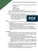 Duodenal Ulcer Risk Factors