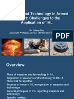 Weapons and Technology in Armed Conflict