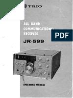 Trio Jr599custom Manual