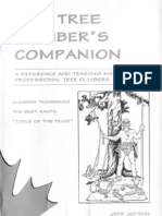 The Tree Climbers Companion 2nd Edition a Reference and Training Manual for Professional Tree Climbers