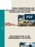 IHL Violations _ Responsibility of States in Modern Conflicts.snas 2017 - Larry