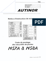 N57 & N58 - Manuel d'Installation -FR- Du 20 10 99 (7686)
