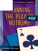 Planning the play in No trump
