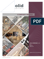 Solid Interiors Company Profile 2019