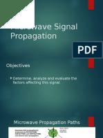 Microwave Signal Propagation