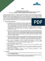Edital de Matrícula SISU