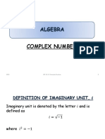 Ch 1.4 Complex Number