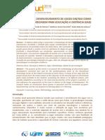 Metodologia de Desenvolvimento de Jogos Digitais Como Objetos de Aprendizagem Para Educação a Distância - EAD