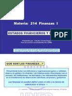 UNED 214 Estados Financieros y Razones