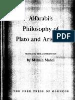 Al-Farabi - Philosophy of Plato and Aristotle