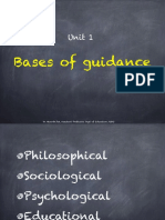Bases of Guidance PPT