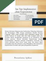 Trik Dan Tips Implementasi Dalam Keperawatan