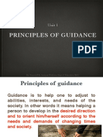 Principles of Guidance PPT
