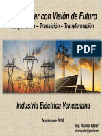 Transformando Con Visión de Futuro, al sector electrico venezolano (Presentación)