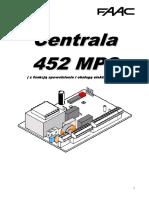 Instrukcja Centrali G BAT 300