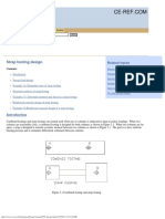 Strapped Footing Design