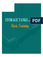 Storage Tanks Basic Training