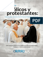 Catolicos y Protestantes