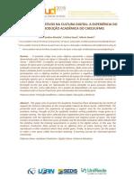 Processos Formativos Na Cultura Digital - A Experiência Do Espaço Produção Acadêmica Do CAED_UFMG